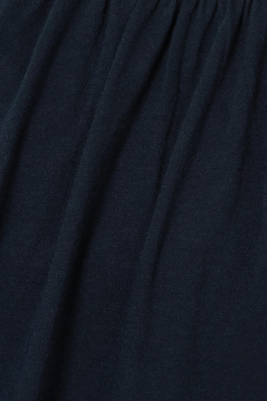 Skin + NET SUSTAIN Karla organic Pima cotton-jersey chemise