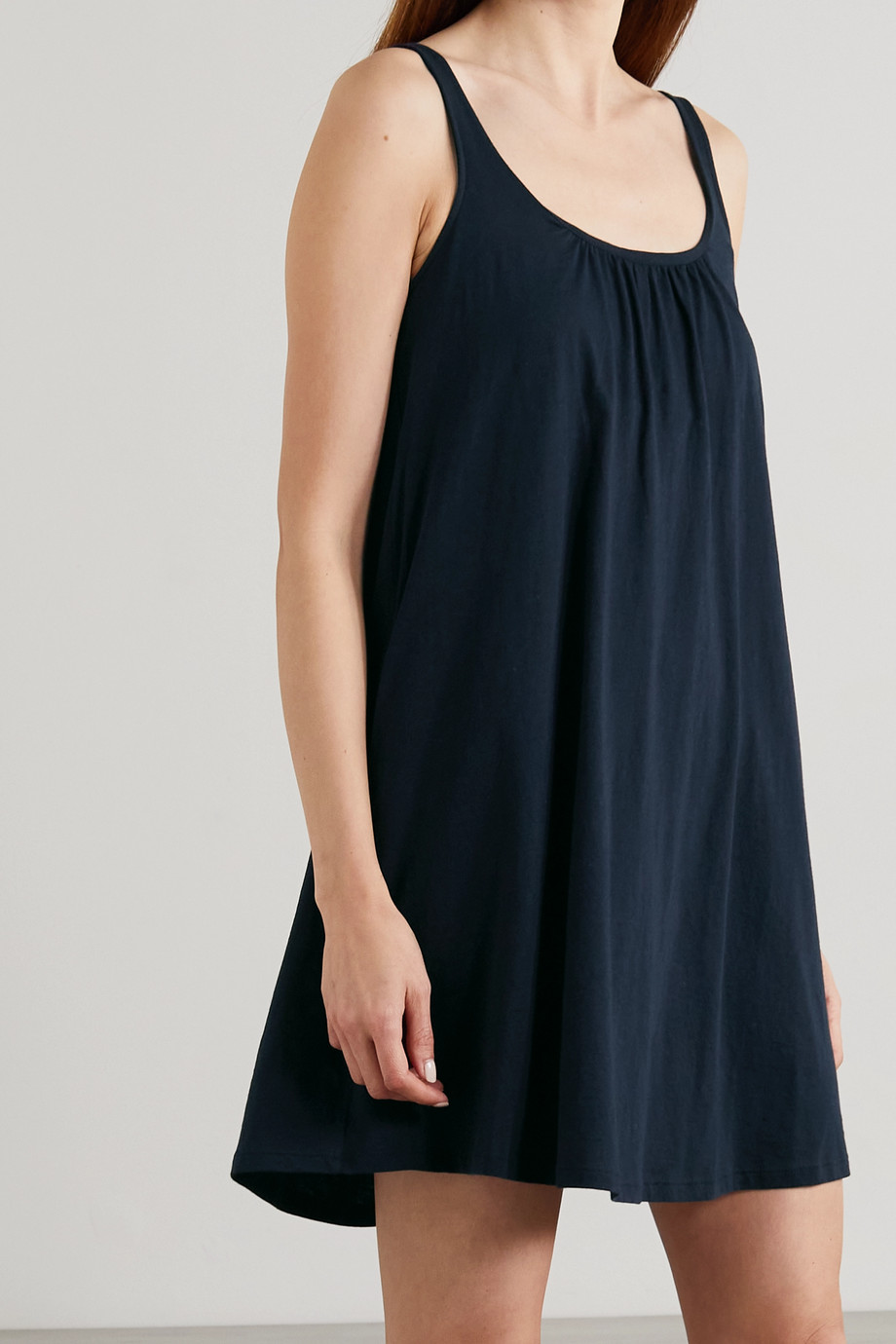 Skin + NET SUSTAIN Karla Nachthemd aus Bio-Pima-Baumwoll-Jersey