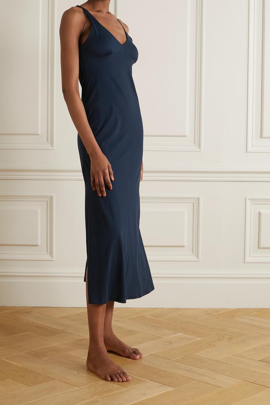 Skin + NET SUSTAIN Karina organic Pima cotton-jersey nightdress