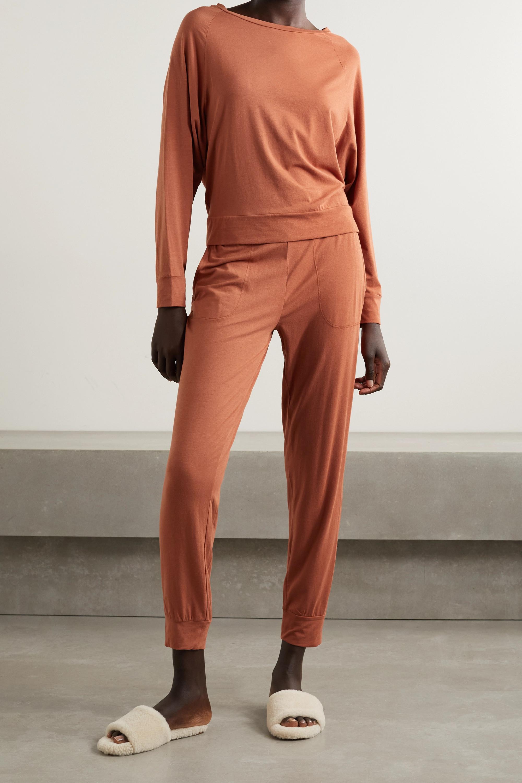 Skin + NET SUSTAIN Moira Jogginghose aus einer Bio-Pima-Baumwoll-Modalmischung mit Stretch-Anteil