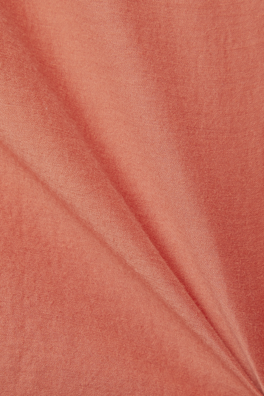 Skin + NET SUSTAIN Ravena Top aus Voile aus einer Biobaumwoll-Seidenmischung