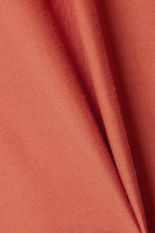 Skin + NET SUSTAIN Verkürzte Hose aus Voile aus einer Biobaumwoll-Seidenmischung