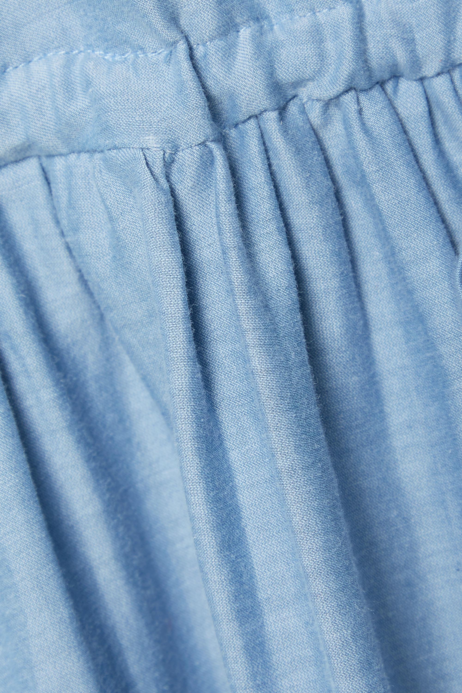 Skin + NET SUSTAIN Raina Midikleid aus Voile aus einer Biobaumwoll-Seidenmischung