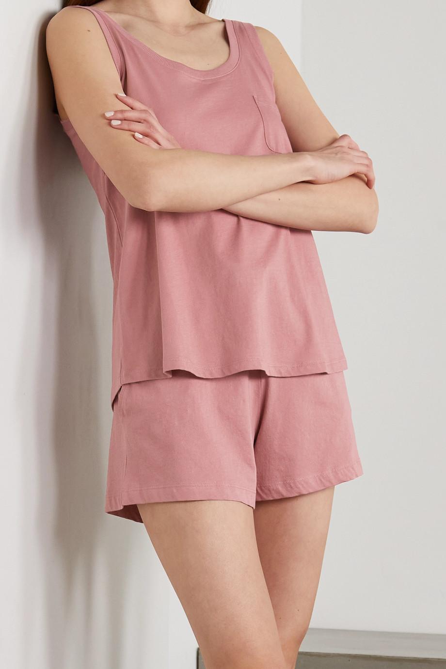 Skin + NET SUSTAIN Casey Shorts aus Bio-Pima-Baumwoll-Jersey