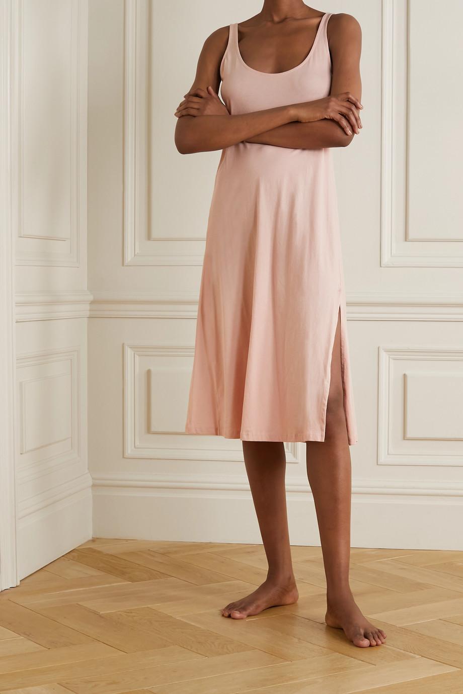 Skin + NET SUSTAIN Chanelle Nachthemd aus Bio-Pima-Baumwoll-Jersey