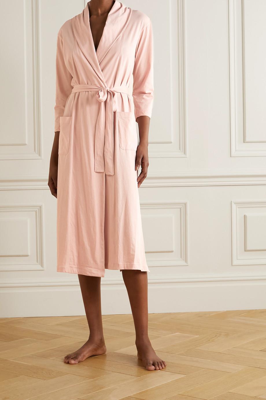 Skin Peignoir en jersey de coton Pima biologique Carina - NET SUSTAIN