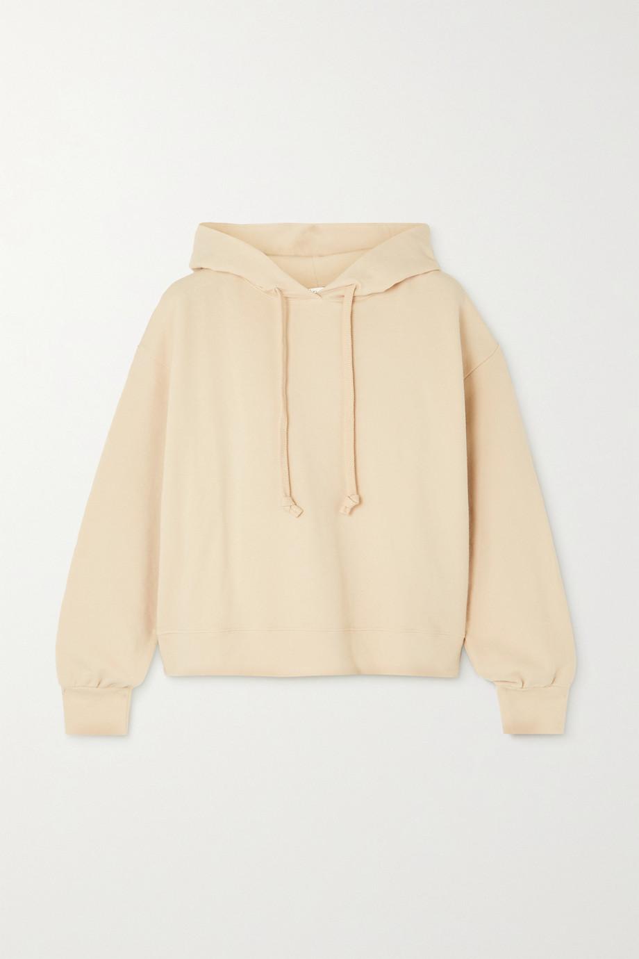 Skin + NET SUSTAIN Elsie stretch organic cotton-jersey hoodie