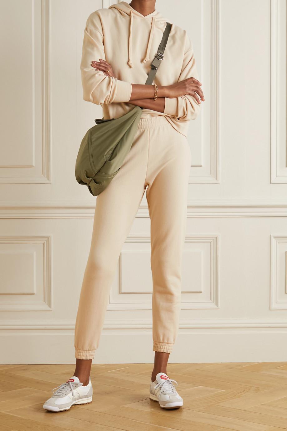 Skin + NET SUSTAIN Emilie stretch organic cotton-jersey track pants