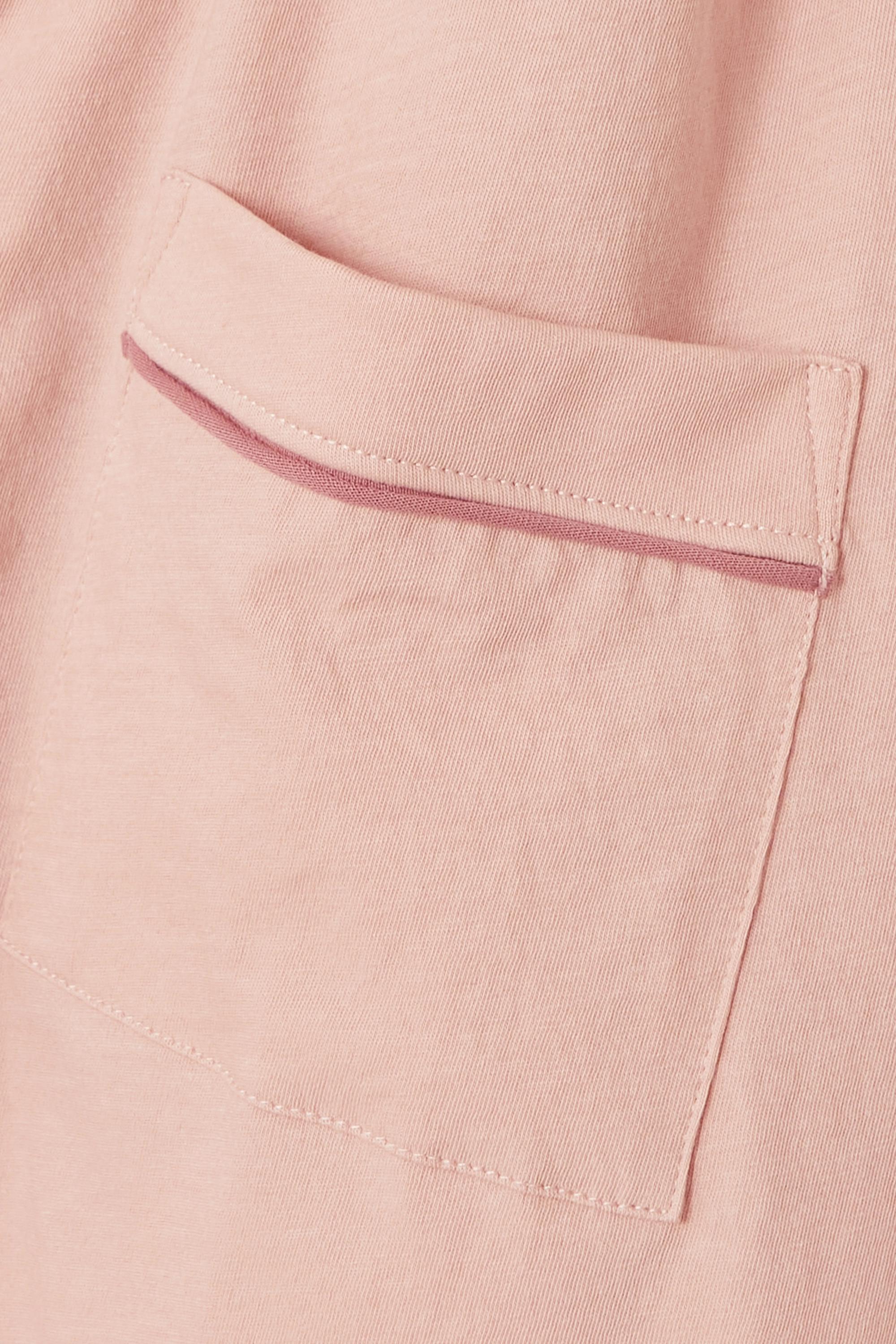 Skin + NET SUSTAIN Celina organic Pima cotton-jersey pajama set