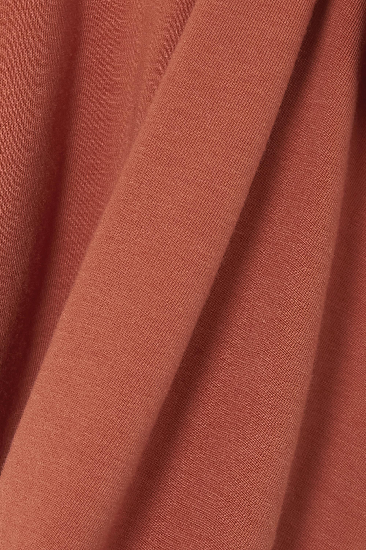 Skin + NET SUSTAIN Calliope wendbares, verkürztes Tanktop aus Stretch-Jersey aus einer Bio-Pima-Baumwolle