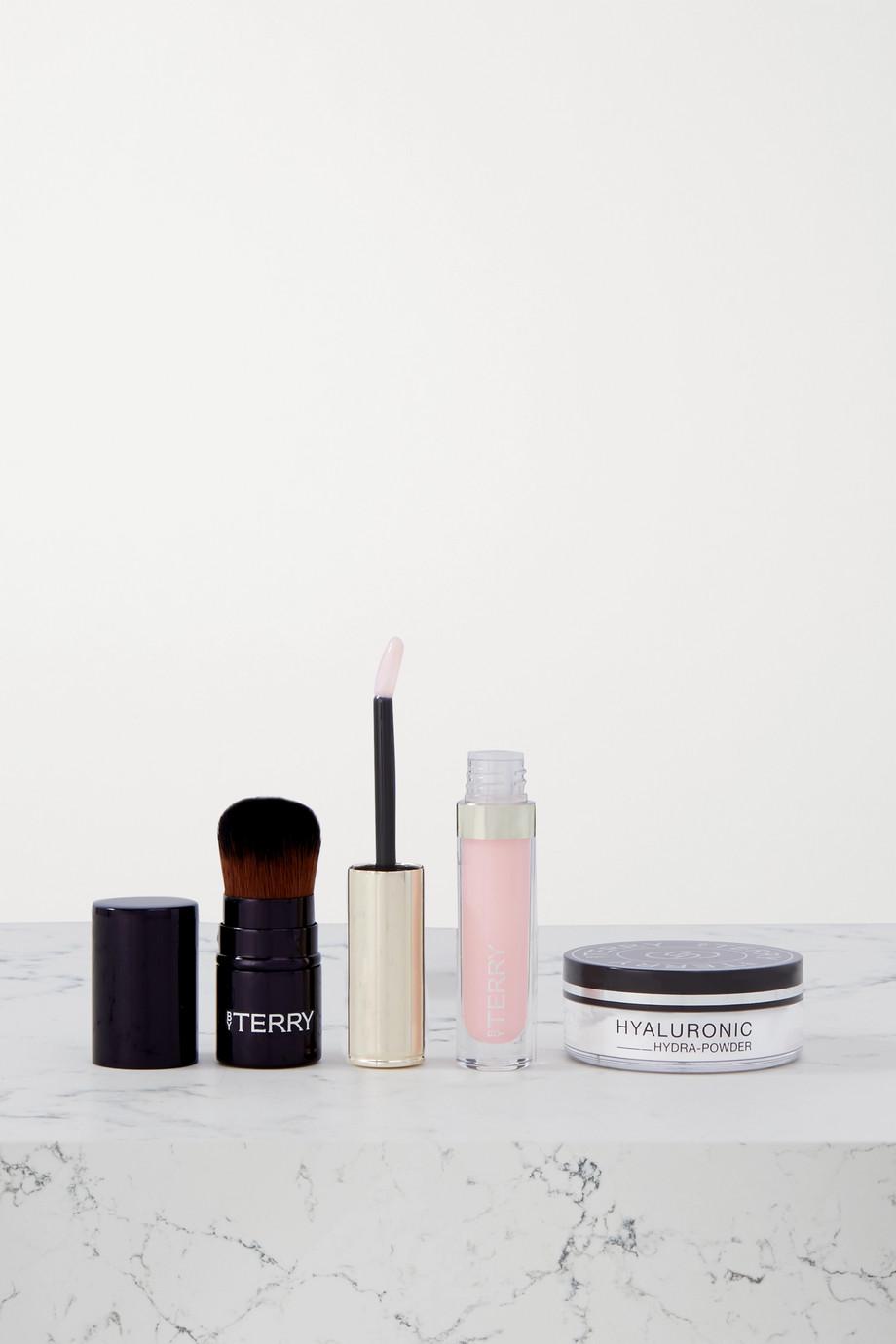 BY TERRY Twinkle Glow Mini to Go Set – Set aus Lippenpflege, Puder und Pinsel