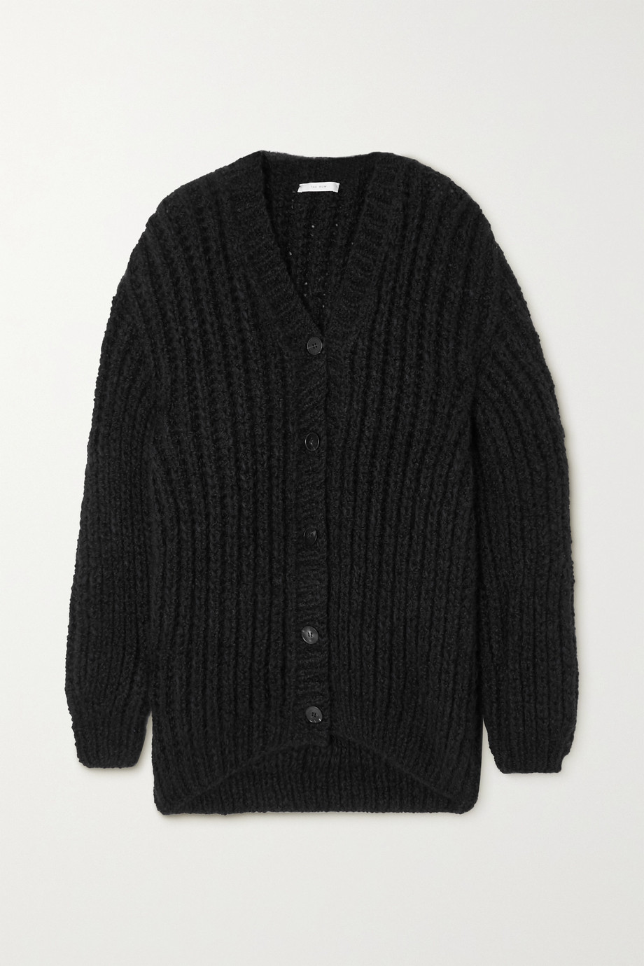 The Row Seilde ribbed cashmere and silk-blend cardigan