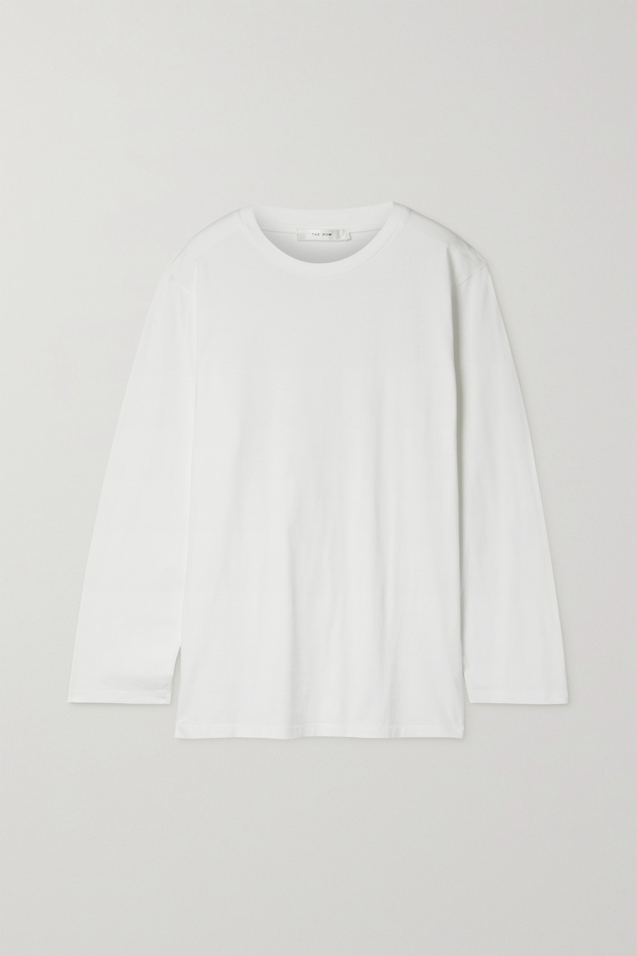 The Row Autie cotton-jersey top