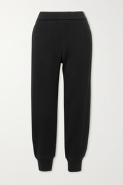 The Row Angeles brushed cotton-jersey track pants