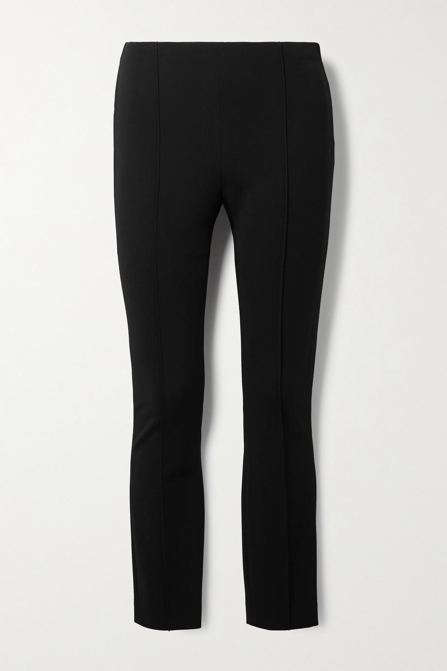 The Row Cosso stretch-ponte skinny pants