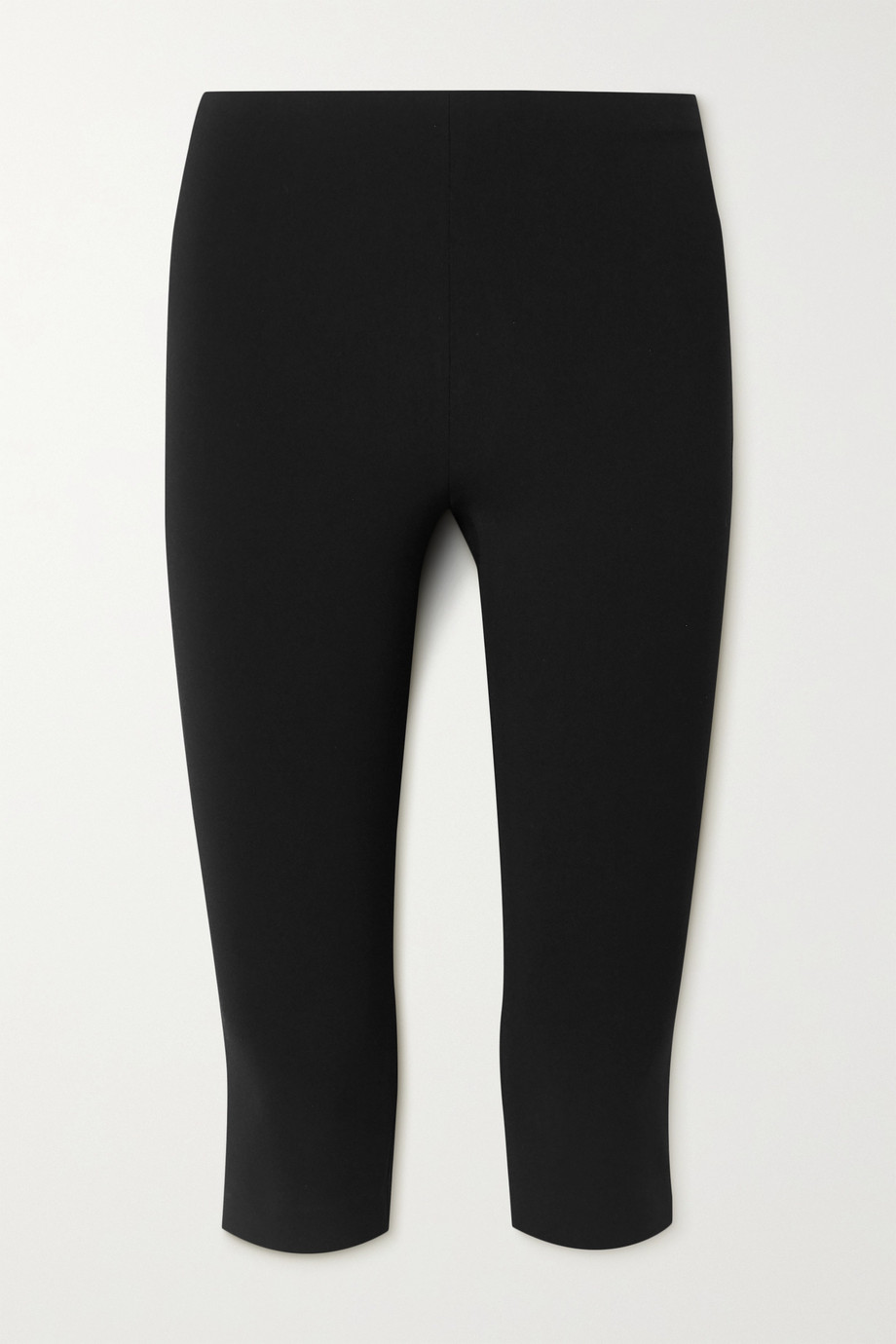 The Row Cappo cropped stretch-cady skinny pants