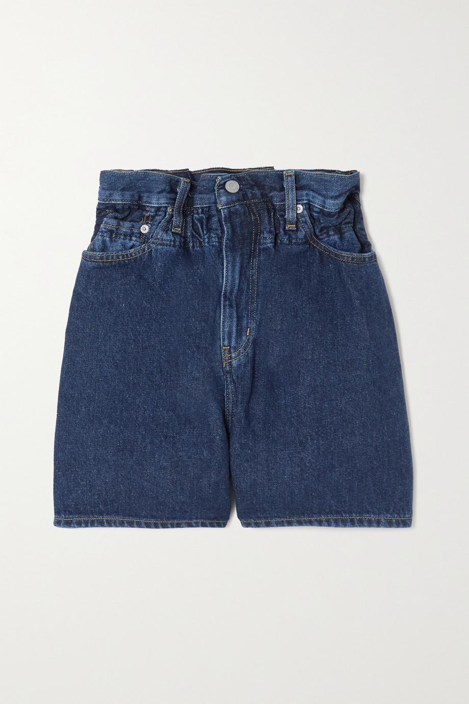 GANNI + Levi's denim shorts