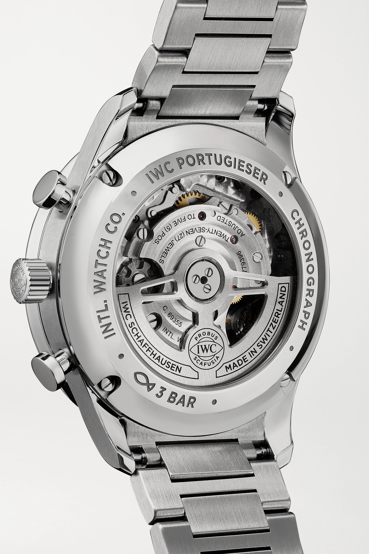 IWC SCHAFFHAUSEN Montre en acier inoxydable Portugieser Automatic Chronograph 41 mm