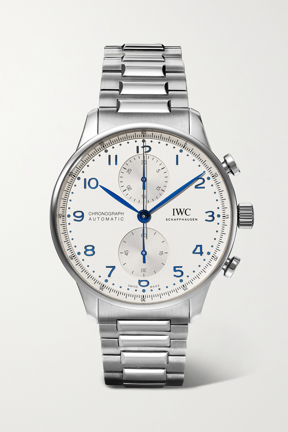 IWC SCHAFFHAUSEN Portugieser Automatic Chronograph 41mm stainless steel watch
