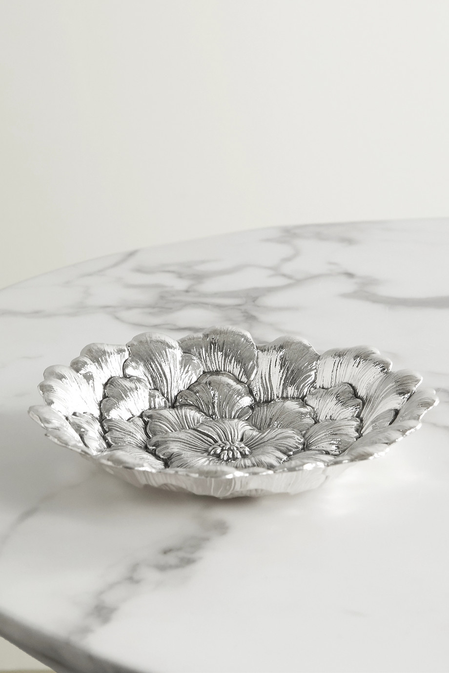 Buccellati Gardenia silver bowl