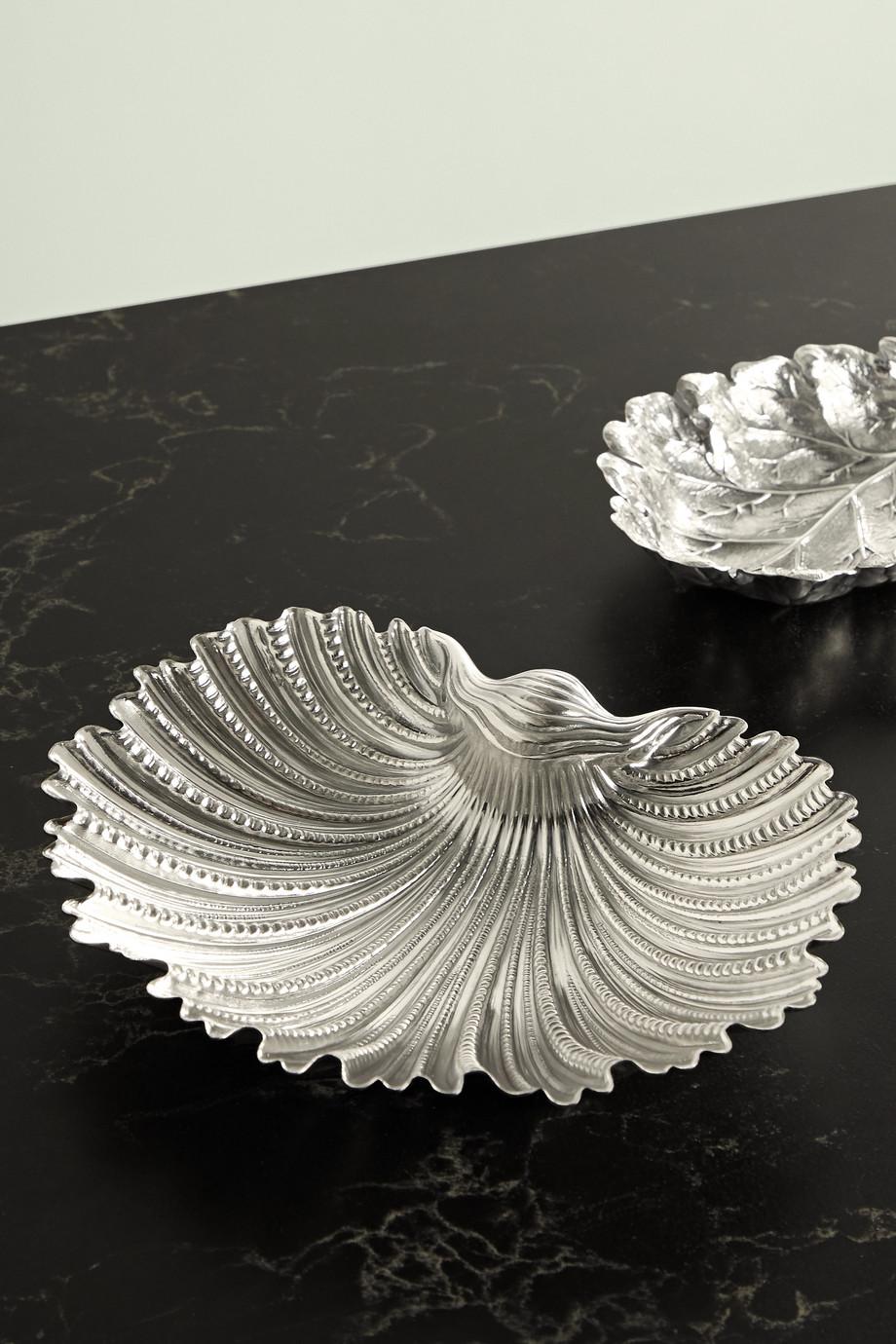 Buccellati Arca sterling silver dish