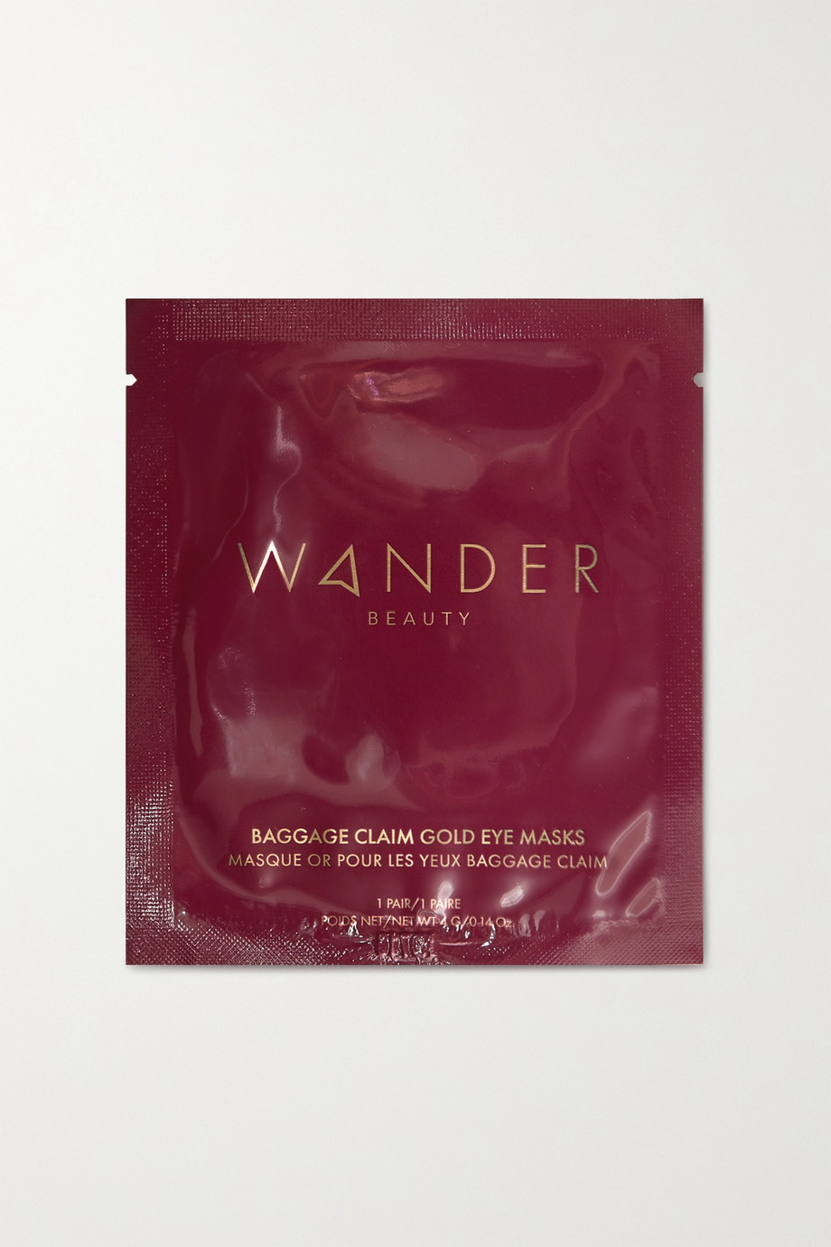 Wander Beauty Baggage Claim Upgrade Gold Eye Masks – 18 Augenmasken