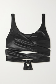 Koral Favor Infinity tie-detailed stretch sports bra