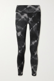 Varley Century tie-dyed stretch leggings
