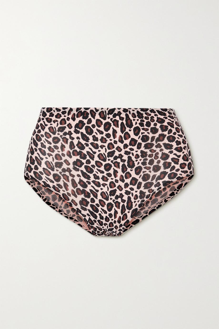 Chantelle SoftStretch leopard jacquard-knit briefs