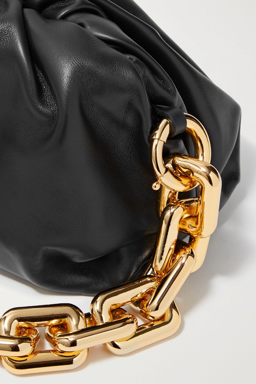 Bottega Veneta The Chain Pouch 缩褶皮革手拿包