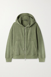 ATM Anthony Thomas Melillo French cotton-terry hoodie