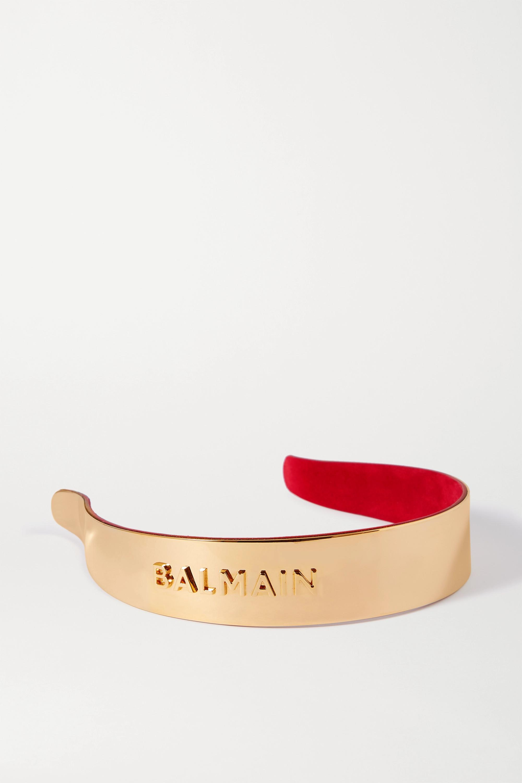 Balmain Paris Hair Couture Gold-plated headband