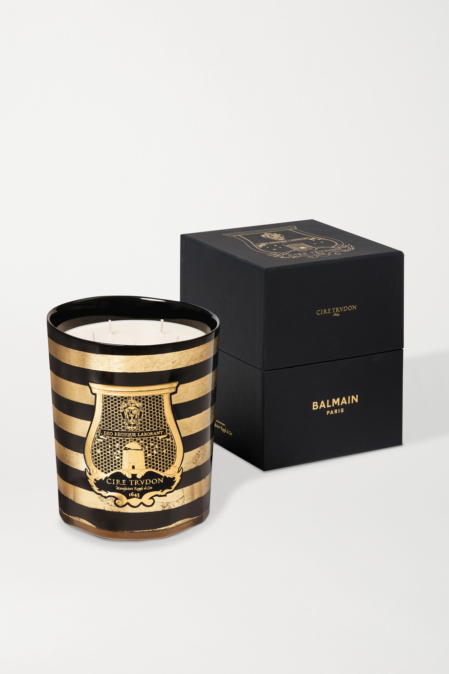 Cire Trudon + Balmain scented candle, 270g