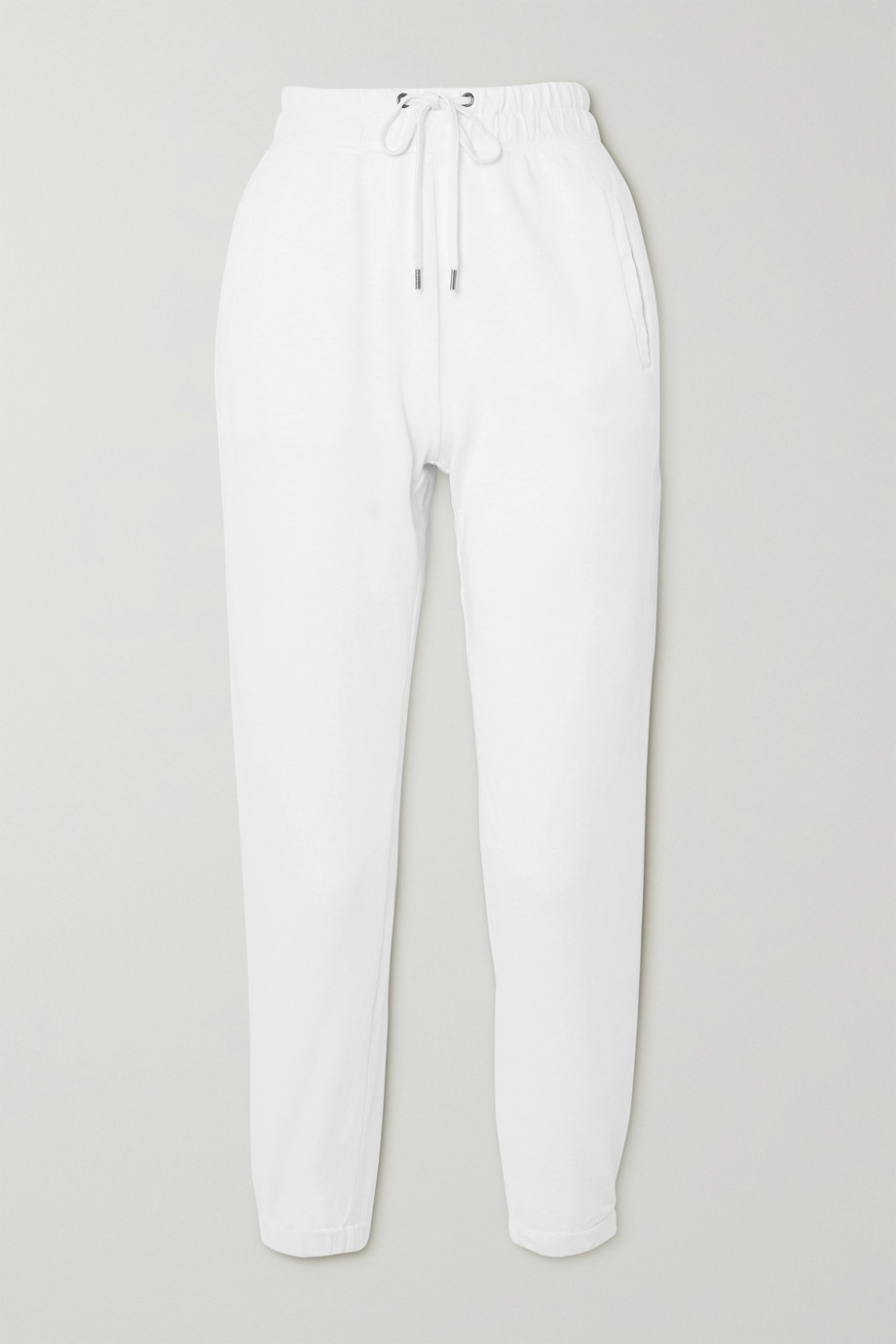 James Perse Supima cotton-jersey track pants