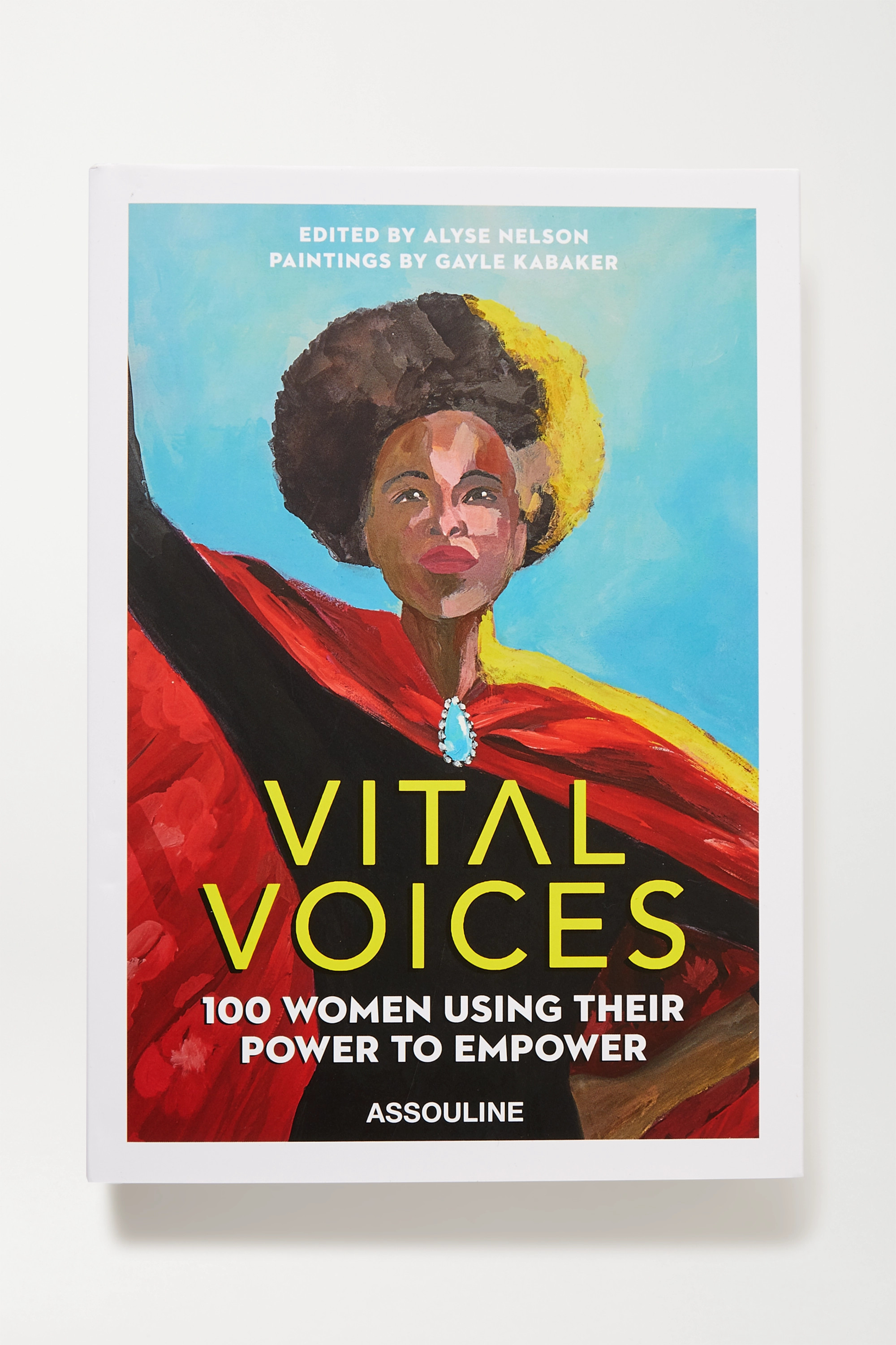 Assouline Vital Voices by Alyse Nelson and Gayle Kabaker hardcover book