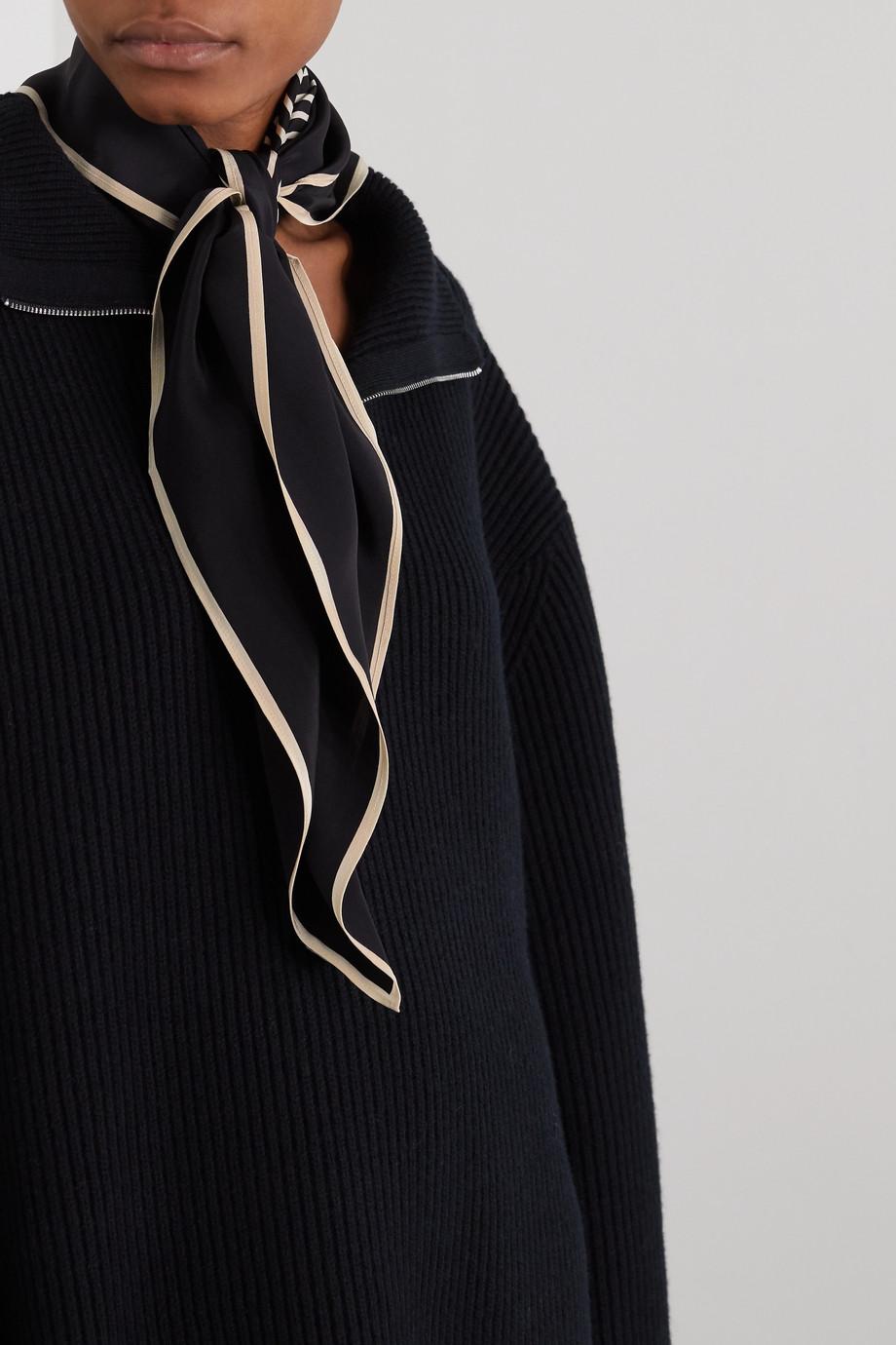 Totême Venezia printed silk crepe de chine scarf