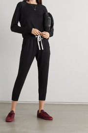 Splits59 Warm Up Reena stretch-modal jersey sweatshirt and track pants set