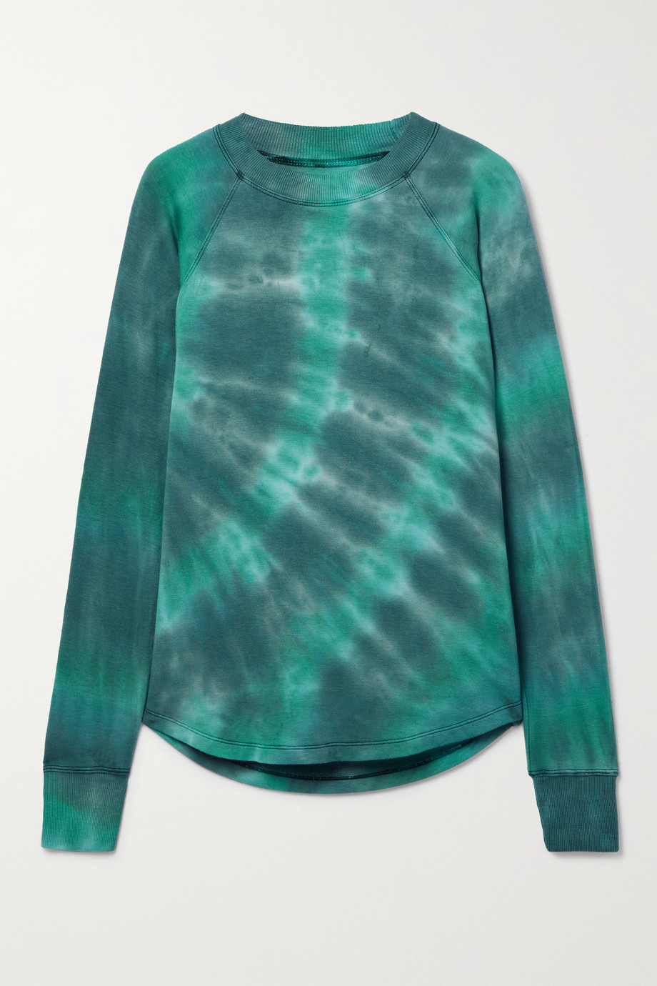 Splits59 Warm Up tie-dyed stretch-modal sweatshirt