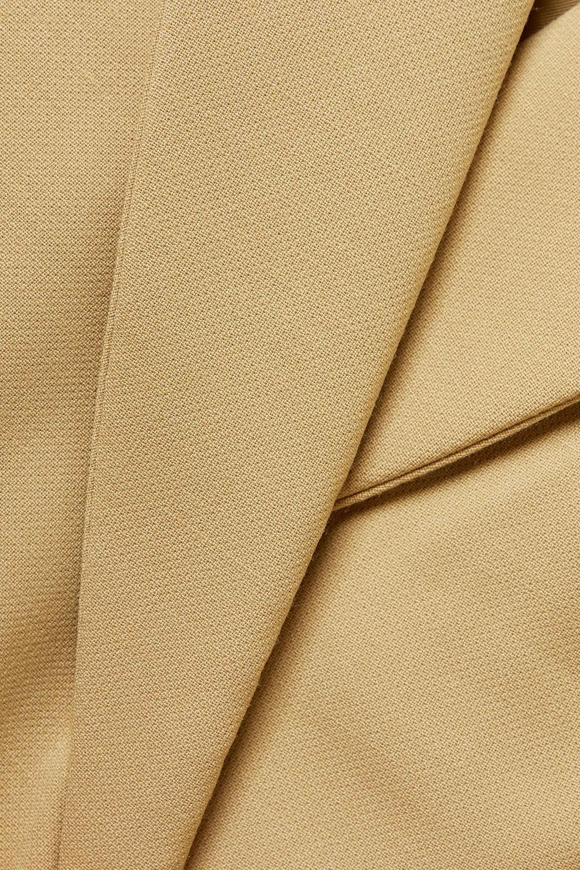 Anine Bing Ade asymmetric double-breasted wool-blend blazer
