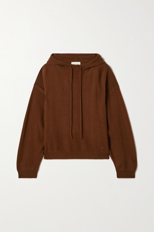 LOULOU STUDIO Linosa cashmere hoodie