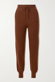 LOULOU STUDIO Maddalena cashmere track pants
