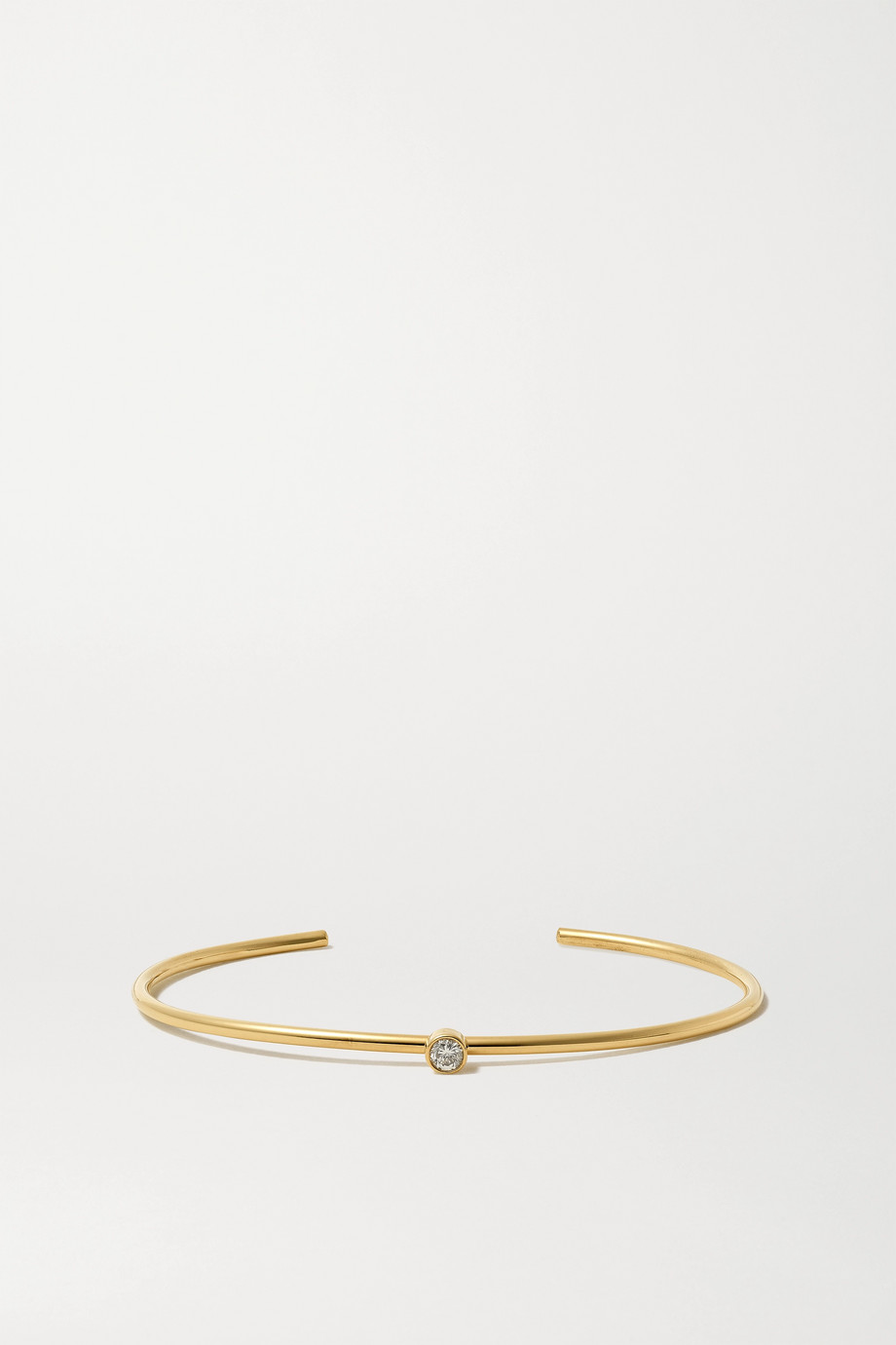 Jennifer Meyer 18-karat gold diamond cuff