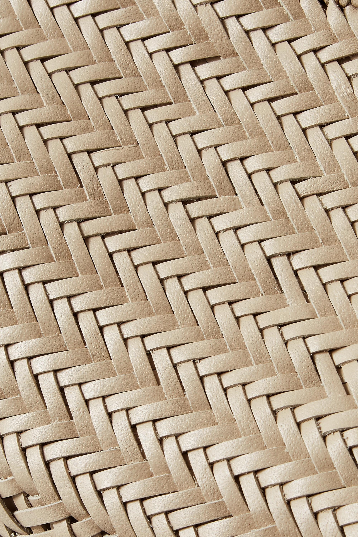 Dragon Diffusion Bamboo Triple Jump small woven leather tote