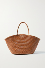 Dragon Diffusion Market Triple Jump woven leather tote