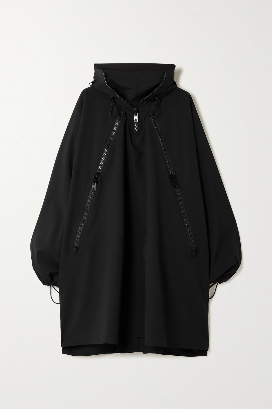 Bottega Veneta Oversized-Jacke aus Ripstop mit Kapuze