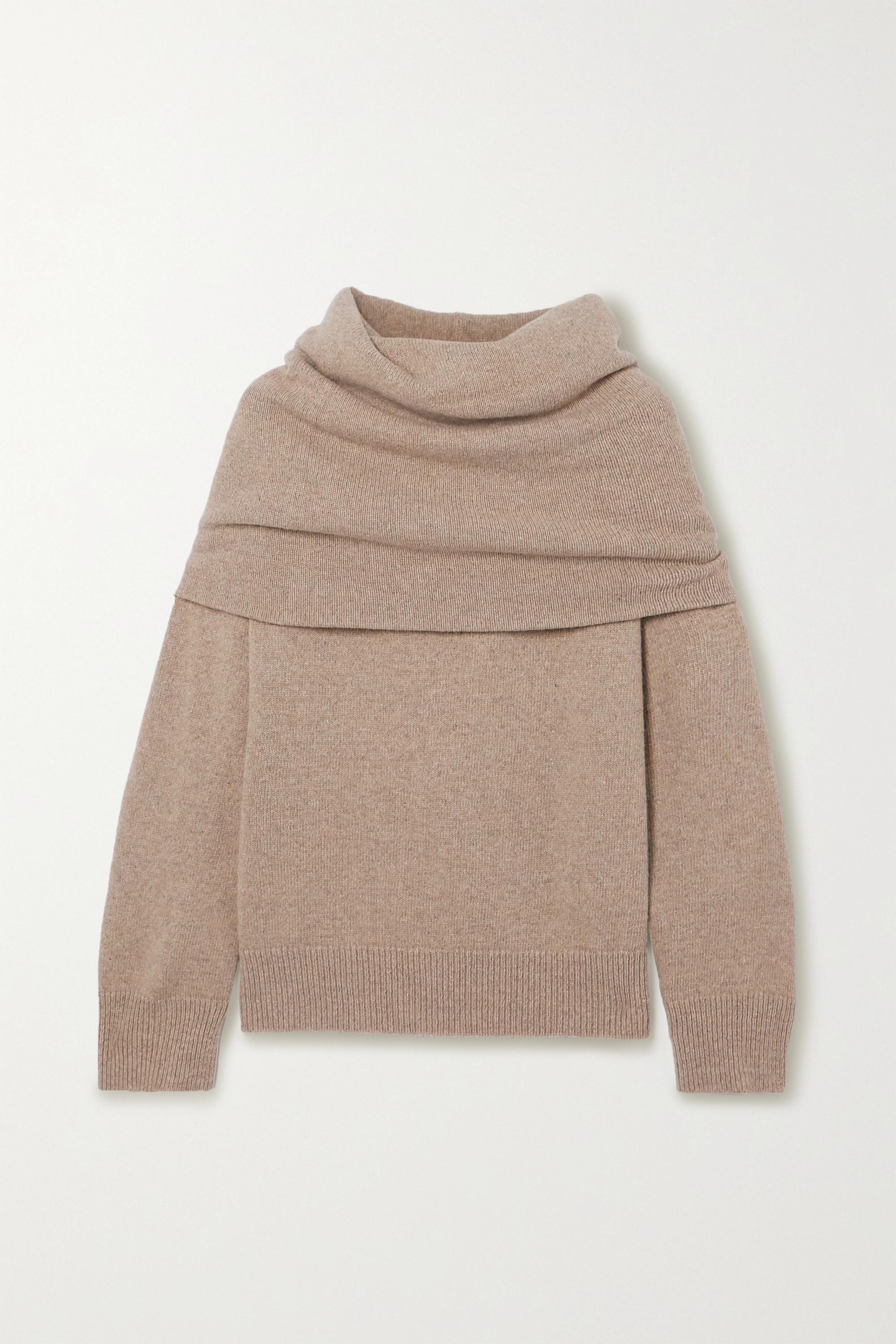 Frankie Shop Oversized hooded sweater