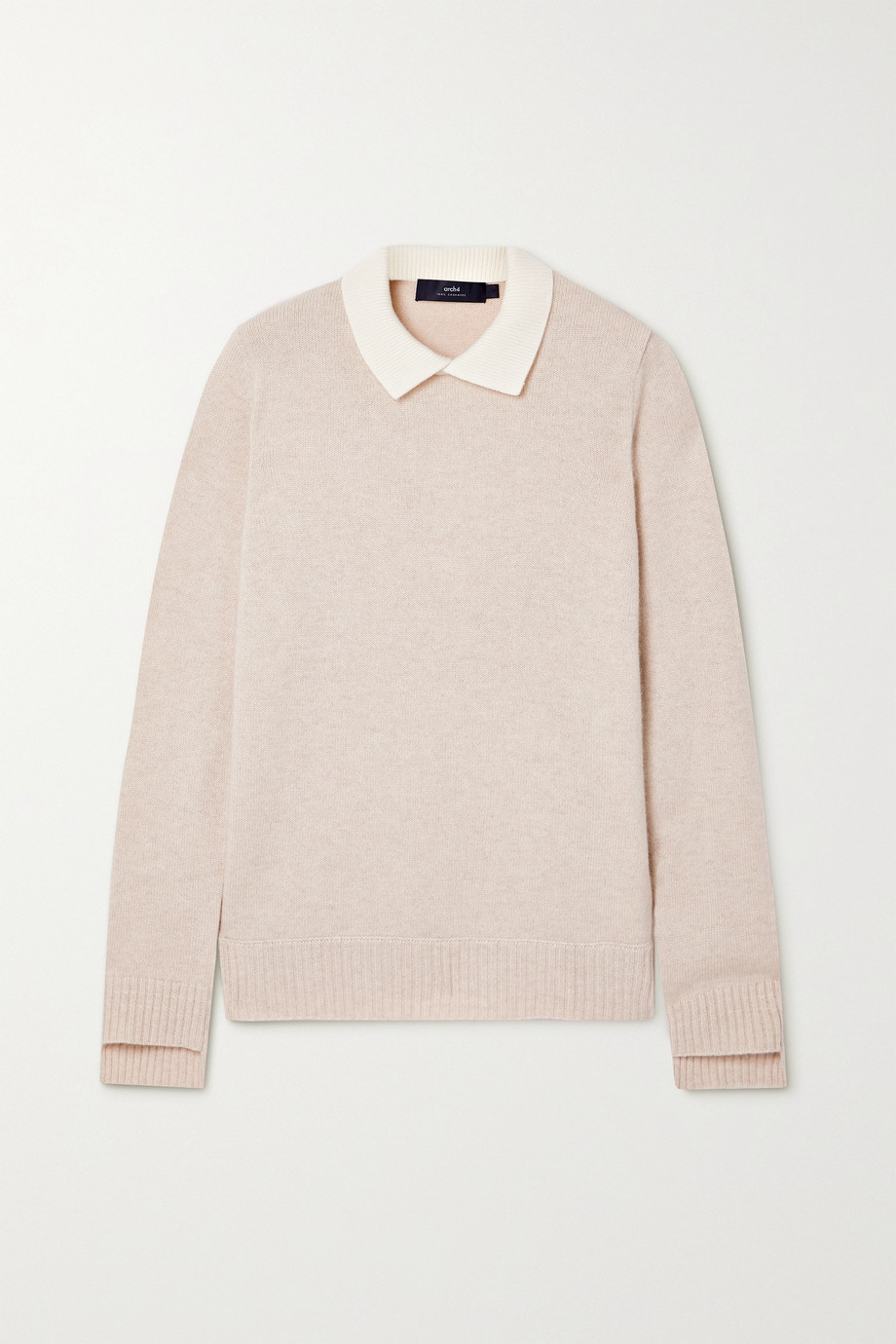 Arch4 Olive cashmere sweater