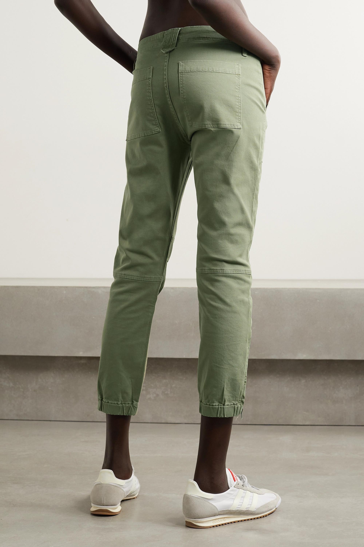 FRAME Hose aus Twill aus Stretch-Baumwolle