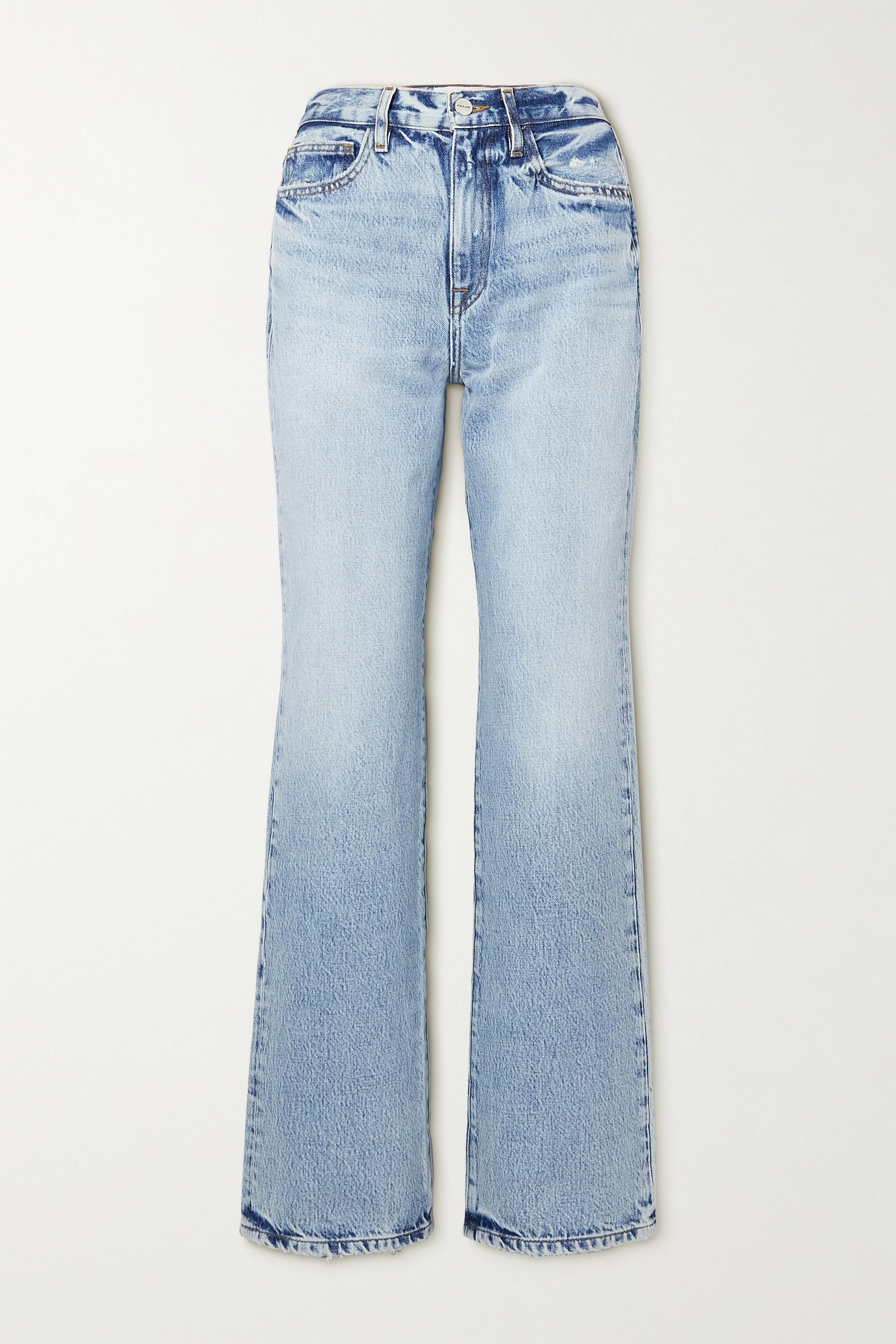 FRAME - Le Jane high-rise straight-leg jeans