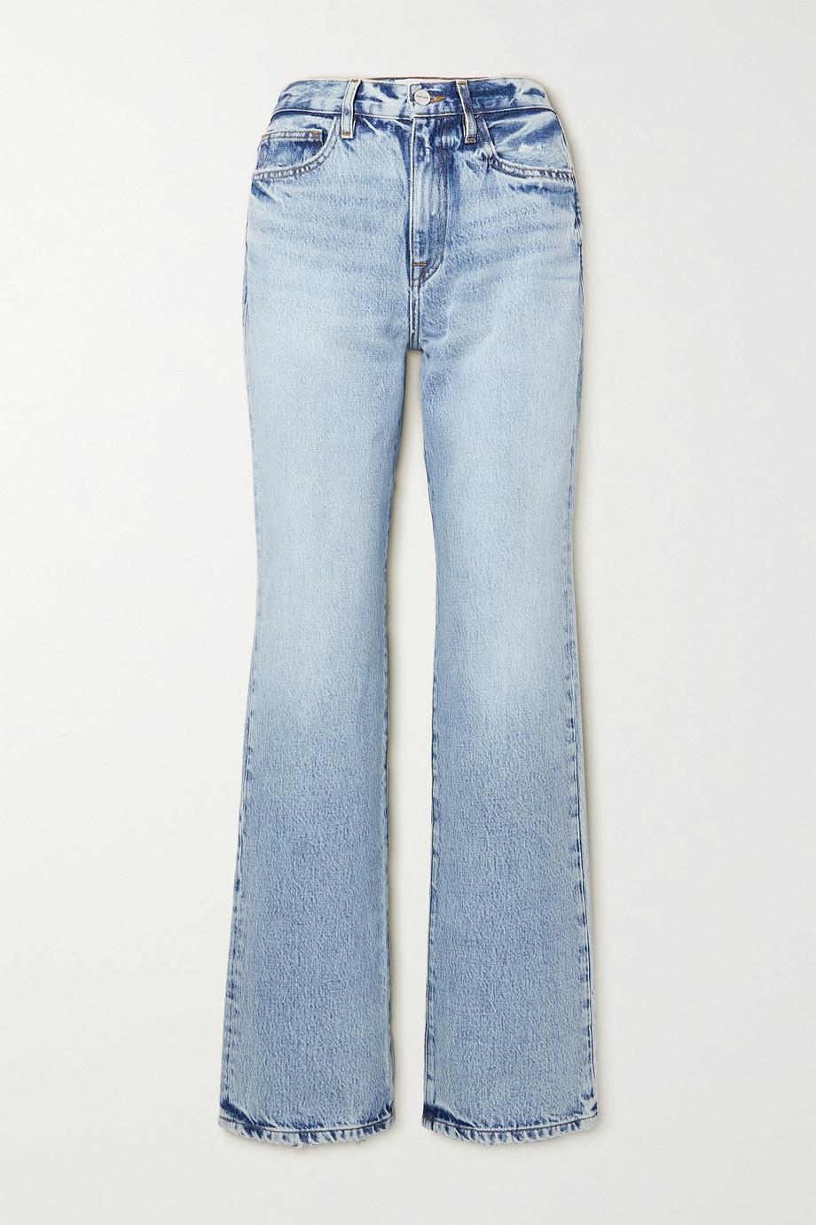 FRAME Le Jane high-rise straight-leg jeans